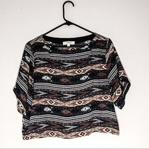 Umgee | Aztec Crop Top | L